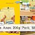 Famous Amos大减价!200g Pack 50%折扣~