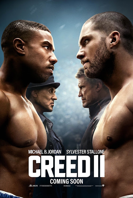 Creed II 2018 movie poster Michael B. Jordan Sylvester Stallone Dolph Lundgren