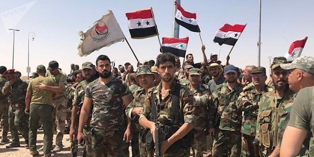 Ribuan Militan ISIS Menyerahkan Diri di Suriah