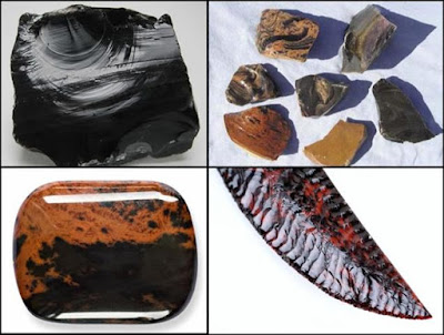 jenis, asal, dan kegunaan batu obsidian