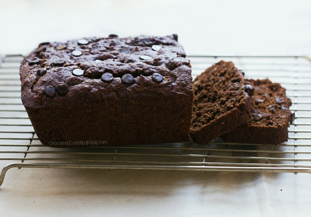 Chocolate Coconut Banana Bread #sweetbread