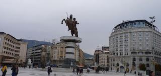 Plaza Macedonia o Makedonian Square.