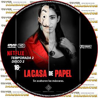 GALLETA 2 [SERIE TV] LA CASA DE PAPEL TEMPORADA 2