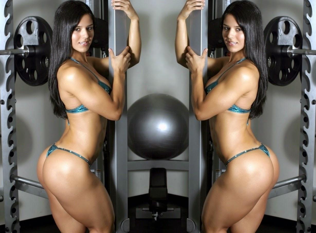 Eva Andressa, considerada a 'Musa Fitness'