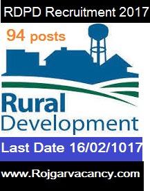 94-gram-panchayat-sahayak-rural-RDPD-Recruitment-2017