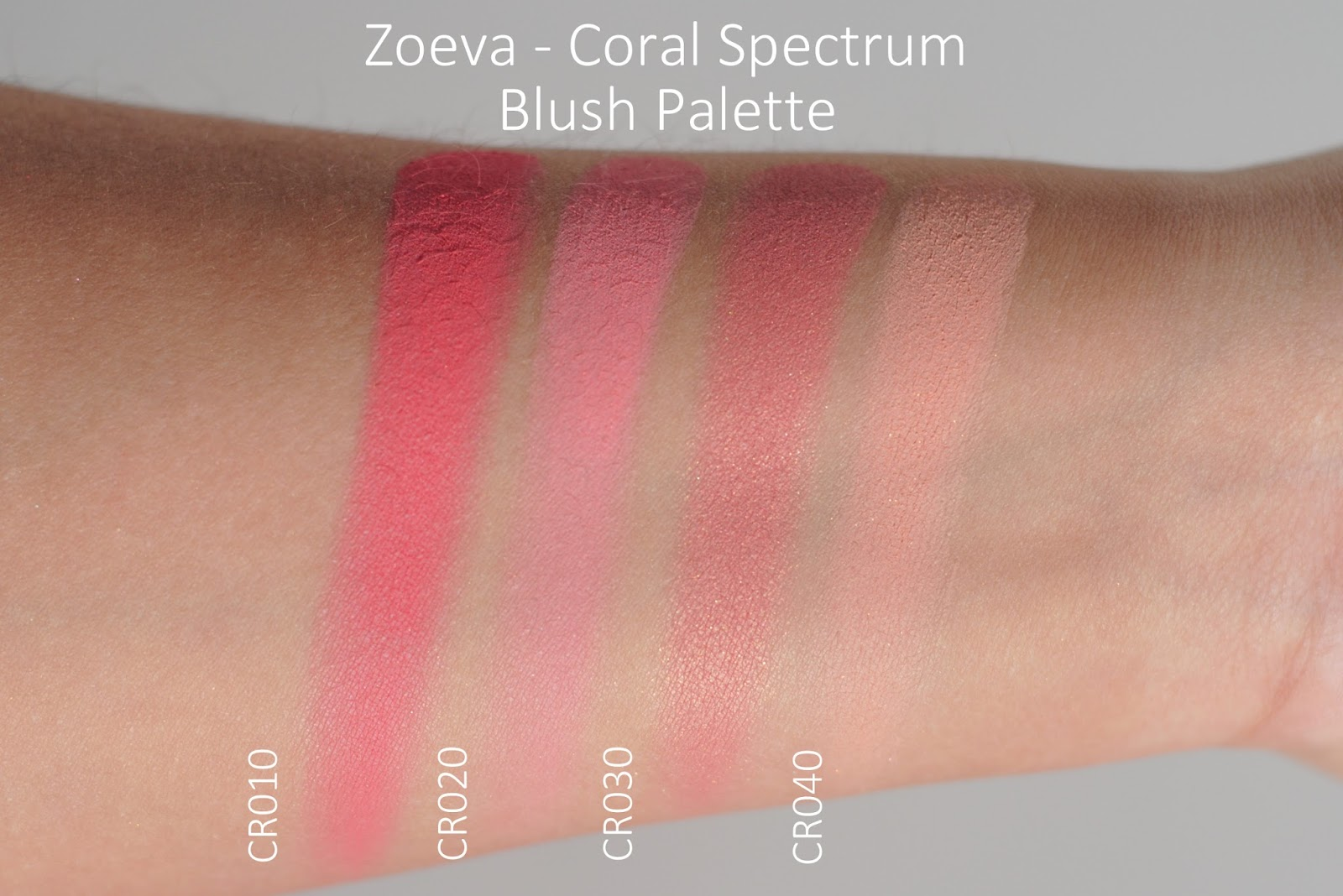 Coral Spectrum Blush Palette by zoeva #11