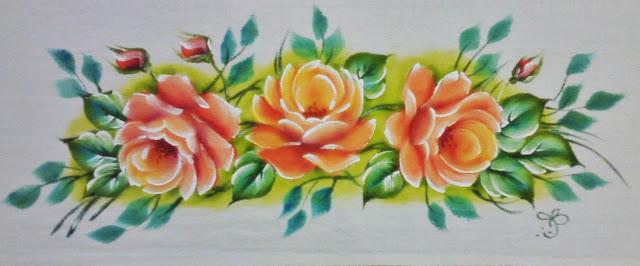 pano de prato rosas