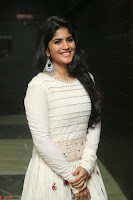 Megha Akash in beautiful White Anarkali Dress at Pre release function of Movie LIE ~ Celebrities Galleries 027.JPG