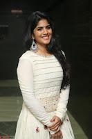 Megha Akash in beautiful White Anarkali Dress at Pre release function of Movie LIE ~ Celebrities Galleries 027.JPG