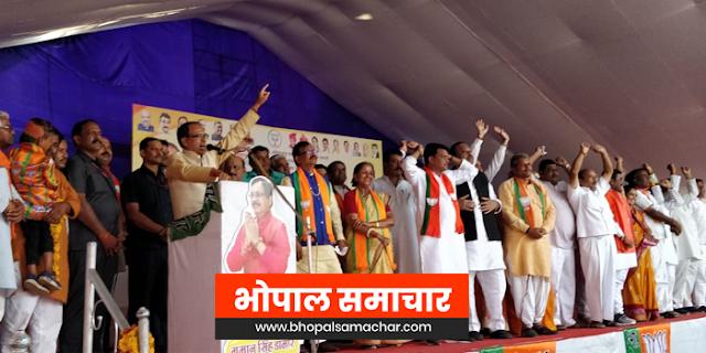 कांग्रेस तो खानदानी झुठेली है, झूठ बोलना इसके नेताओं का पेशाः शिवराज सिंह चौहान | MP NEWS