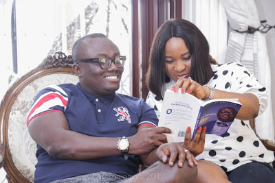 Photos: #ItIsPossible : Bola Ray Poses With Family Ahead Of Book Launch