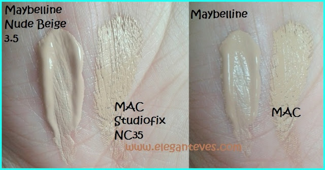 Maybelline Dream Liquid Mousse Airbrush Finish Foundation #Nude Beige 3.5