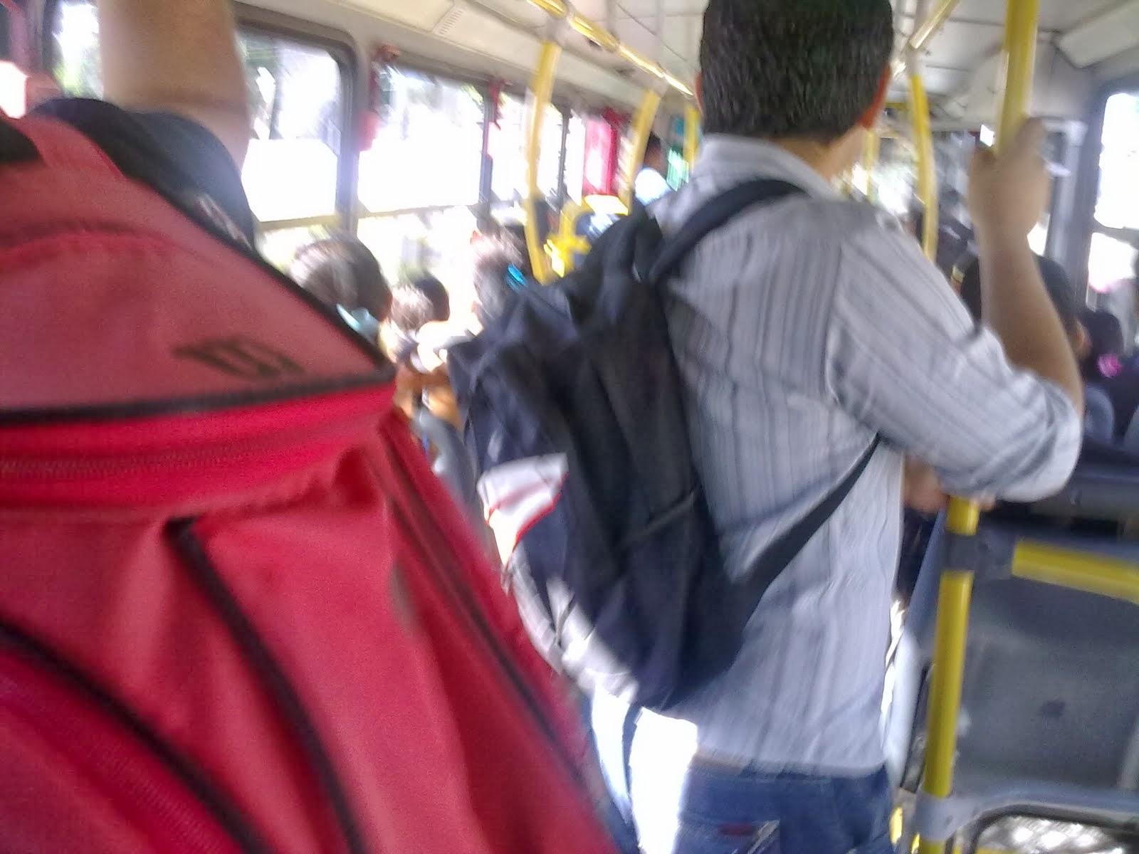 As pessoas não vivem sem bolsas
