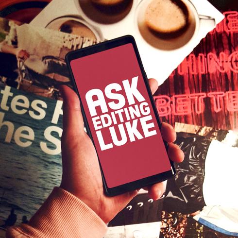 Ask Editing Luke Instagram