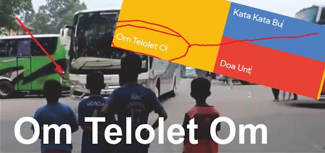 Ini dia kronologi Om Telolet OM