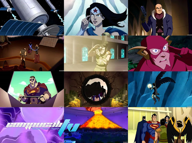 JLA Adventures: Trapped in Time DVDRip Latino