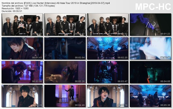 Live Hunter (Interview) A9 Asia Tour 2019 in Shanghai [2019-04-07]