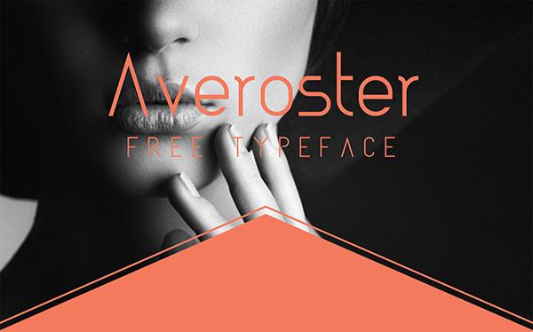 Download 22 Font Terbaru Gratis Edisi Mei 2016 - Averoster - Free Typeface