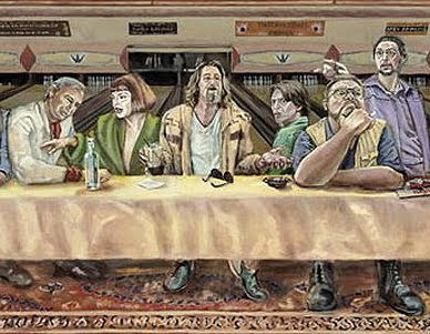 The Big Lebowski Last Supper (detail)