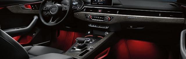 Interior del Audi A4 Ultra 2017