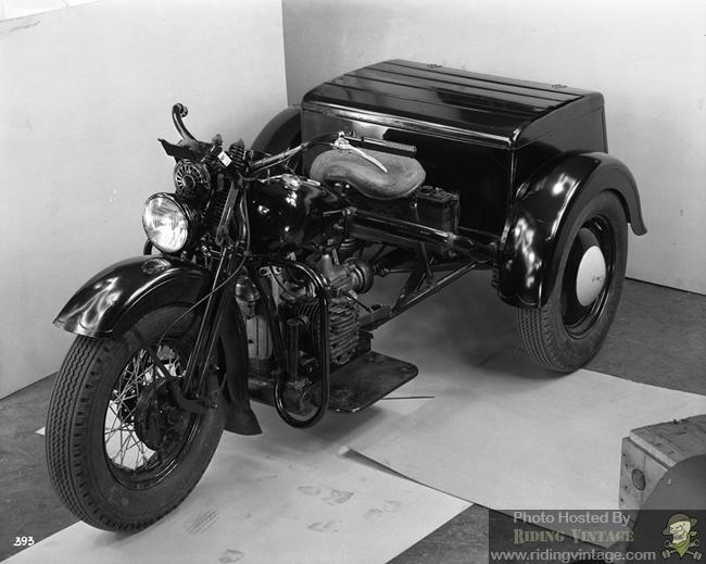 Prototype Harley-Davidson Servi-Car with an XA Powerplant