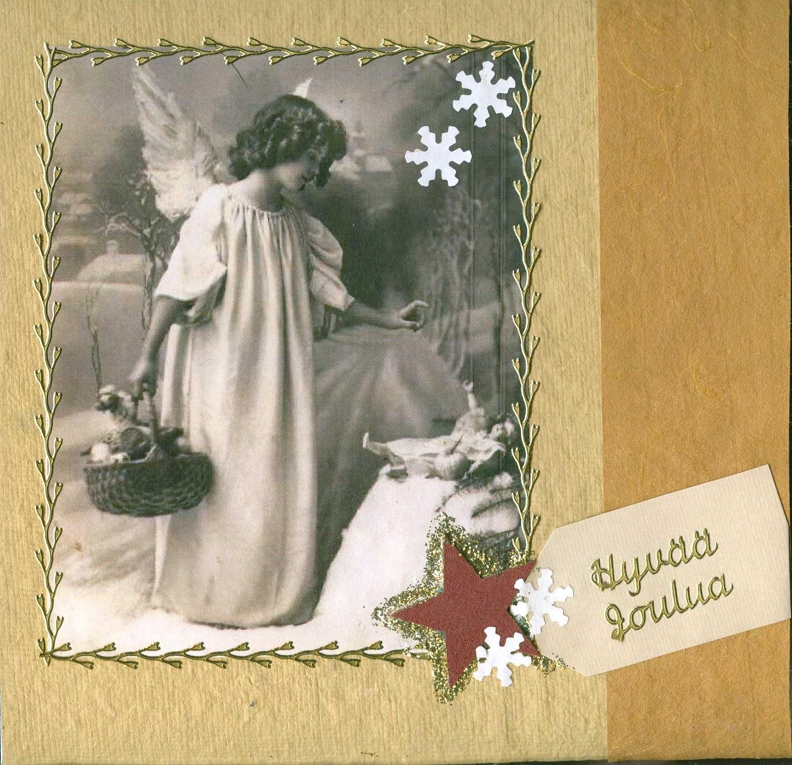 Joulukorttiaskartelua