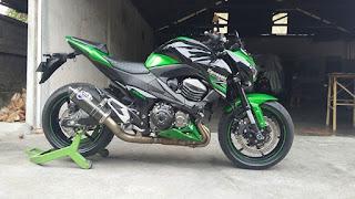 INFO MOGE BEKAS : Forsale Z800 Kawasaki 2016 - BALI