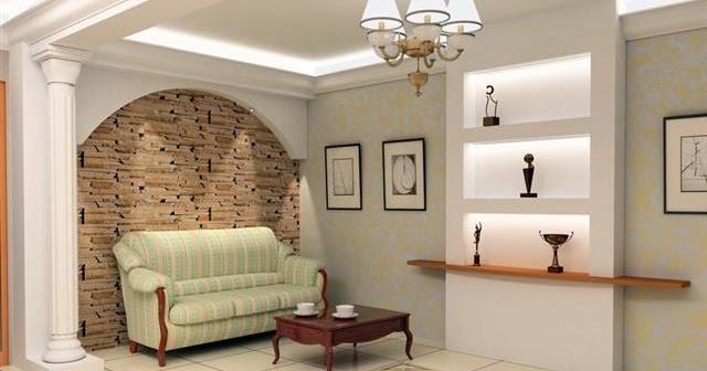 d coration int rieur de couloir platre. Black Bedroom Furniture Sets. Home Design Ideas