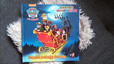 Pomysł na świąteczny prezent | Psi Patrol - Książka z puzzlami | Psi Patrol - Pieski ratują święta | Wydawnictwo MSZ