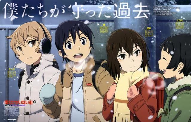 Boku dake ga inai Machi - Anime Buatan Studio A-1 Pictures Terbaik