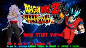 Download Dragon Ball Z - Ultimate Tenkaichi Mod Textures CSO ISO PSP PPSSPP
