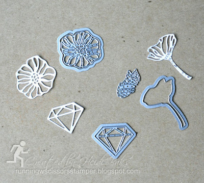 Stampin' Up Eclectic Layers Thinlits