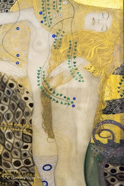 Gustav Klimt: Novias, Serpientes de Agua - Belvedere Museum, Viena por El Guisante Verde Project