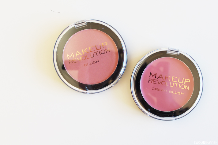 MAKEUP REVOLUTION // Haul + First Impressions - Powder Blush + Cream Blush - CassandraMyee