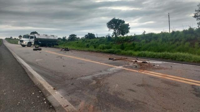 Jaruenses sofrem acidente ao retornarem de show em Ji-Paraná