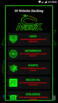 ANDRAX Penetration Testing on Android