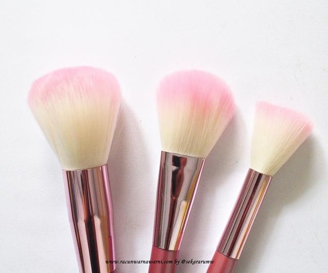 Detail Powder Brush Pink Set