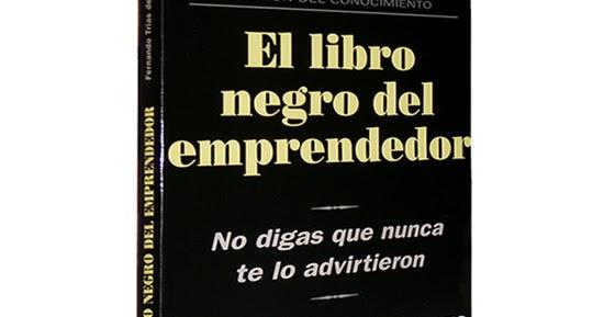 EDUCACIÓN DE MILLONARIOS: LIBRO GRATIS EL LIBRO NEGRO DEL