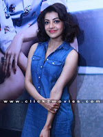 Kajal Agarwal Latest Blue Top Stills