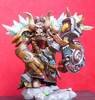 orme magiche scultore modellismo action figure sciamano tauren world of warcraft modellini da colorare personalizzato