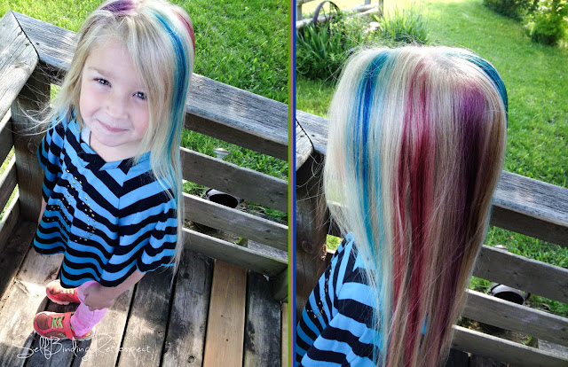 how to dye your hair with food colouring - SelfBinding Retrospect by Alanna Rusnak
