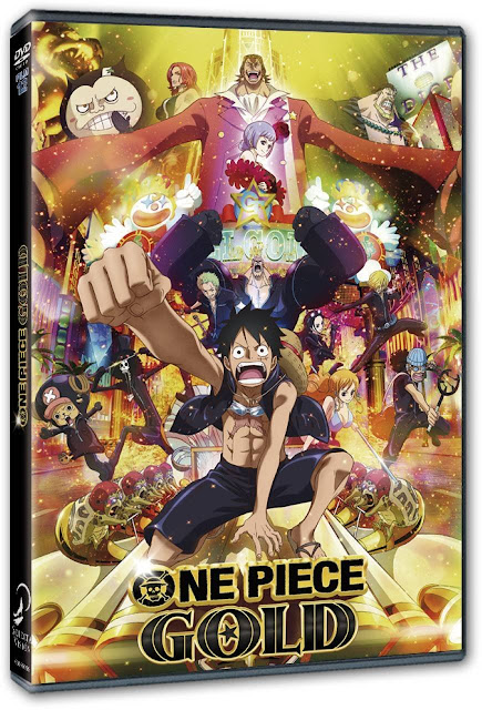 One Piece Gold DVD