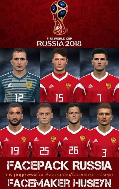 Russia Facepack PES 2017