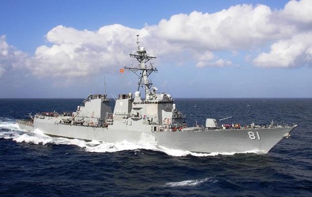 Есмінець США з ракетами Томагавк увійшов у Середземне море