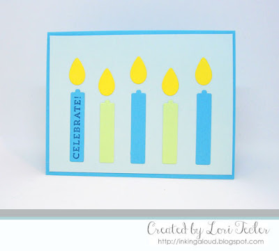 Celebrate card-designed by Lori Tecler/Inking Aloud-stamps and dies from My Favorite Things