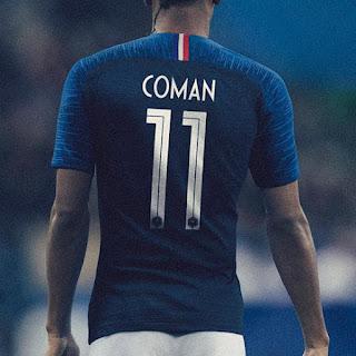 France 2018 home kit