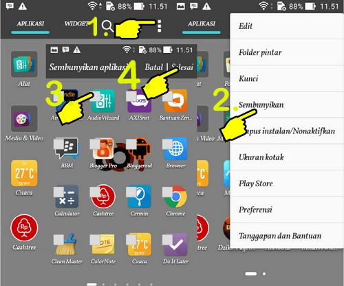 Cara Menyembunyikan Aplikasi di Smartphone Android Tanpa Root