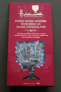 Holdsworths Chocolates Fiery Dark Chocolate Gingers