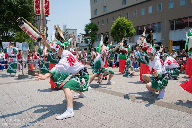 高円寺北口広場、阿波踊り、和楽連の写真