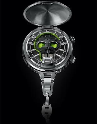 HYT Skull Pocket watch